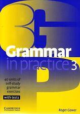 Cambridge GRAMMAR IN PRACTICE 3 PRE-INTERMEDIATE Self-study Exercises +Tests NEW