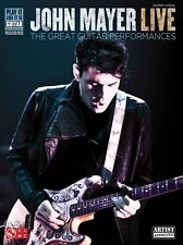 John Mayer LIVE Learn to Play Any Given Thursday Guitar TAB Music Book