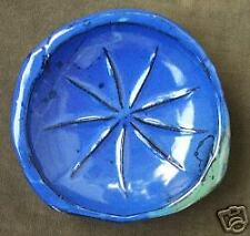 """Nine Pointed Star"" Dish by Baha'i clay artist, Bahereh"