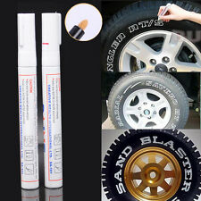 Car Waterproof Graffiti Painting Tread Paint Marker Pen Tyre Tire Wheel Mark 2x