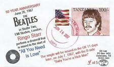 """26 JUN '67 50 YEAR ANNIVERSARY Ringo Drumroll """"All You Need Is Love"""" #4of5 Cover"""