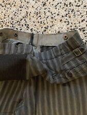 Pantalon de travail ancien vintage chore french workwear pants 30s ww2