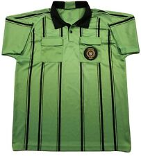 EPIC SPORTS Green & Black Referee SS Shirt, w/2016 US Soccer FRP Patch, Size XXL