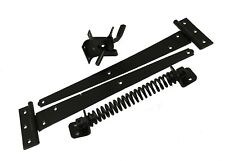 Quality Garden Gate Fixing Kit With Latch T Hinges and Spring Closer