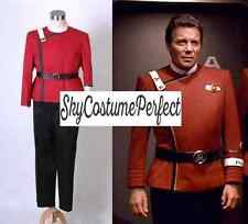 FREE WW SHIP Star Trek II-VI Wrath of Khan Starfleet Captain Kirk Costume Movie