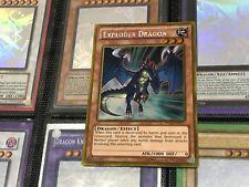 YUGIOH CARD: GOLD RARE - EXPLODER DRAGON - PGLD-EN071 CHEAPEST FREE 1ST CLASS PO