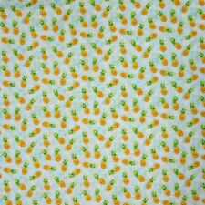 Nautical Fabric - Isle Pineapple Toss Blue - Oasis YARD