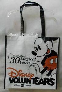 New Disney Citizenship D23 2013 Expo VoluntEARS Reusable Shopping  Bag Tote