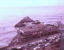 1950s SAN FRANCISCO CLIFF HOUSE w/SKY TRAM SIGNAGE~ORIGINAL PHOTO TRANSPARENCY