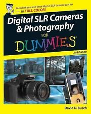 NEW - Digital SLR Cameras and Photography For Dummies by Busch, David D.
