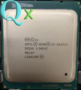 Intel Xeon E5-2643 V2 CPU Processor LGA2011 SR19X 6Core 12Threads 3.5GHz L3-25MB