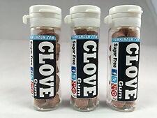 Yum Yum Gum CLOVE Flavor Sugar-free & Aspartame-free Bubble Gum (3 Tube Pack)