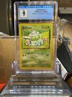 🌱BASE SET🌱 1999 Pokemon Game Bulbasaur CGC 9 MINT⭐️ - PSA BGS WOTC SA2