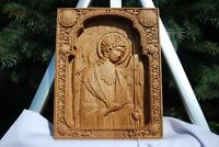 ARCHANGEL MICHAEL WOOD CARVED ICON RELIGIOUS GIFT WALL HANGING ART WORK