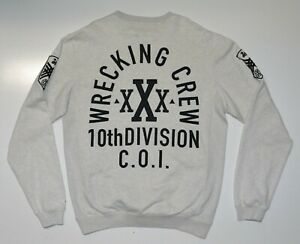 10 Deep Wrecking Crew Division xXx Mens Sweatshirt Jumper Size XL