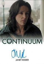 Continuum Seasons 1 and 2 Autograph Card Janet Kidder as Ann Sadler