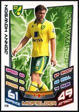 Jonny Howson Norwich #171 Topps Match Attax Football 2012-13 Trade Card (C440)
