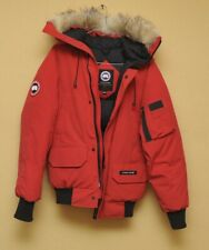 canada goose chilliwack jacket parka used down  original 2xs woman red