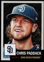 2019 Topps MLB The Living Set #227 Chris Paddack RC Rookie San Diego Padres