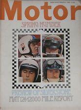 Motor magazine 29/3/1969 featuring Bond Equipe road test, De Dion Bouton,Vignale
