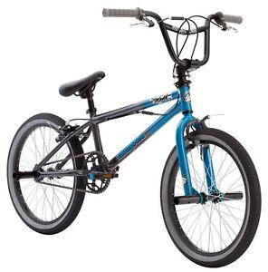 "Kids' 20"" Mode 100 BMX Bike Sturdy Frame w/ Pegs, Ages 7-13, Rider Height 4'-5'"
