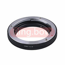 Olympus OM to Olympus 4/3 Lens Adapter E-5 E-7 E420 E620 E520 E-410 E-510 E500