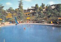 Cartolina Baia d'Argento Hotel La Residence Piscina e albergo nel parco 1969