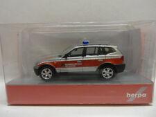 Herpa 093262 BMW X3 Feuerwehr Nittenau 1:87 Neu