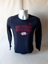 Adidas New England Revolution boys navy blue long sleeve tops size XL