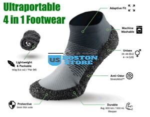 SKINNERS 2.0 Hybrid Ultraportable footwear for sports and travels