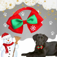 7 Styles Christmas Dog Cat Pet Puppy Bowknot Necktie Collar Bow Tie Clothes 1 PC