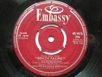 Embassy Singers & Orchestra Vocal Gems From South Pacific EP Em (45/13)