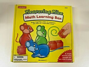 Lakeshore Measuring Mice Math Learning Box Snap Together Cubes EE161 Ages 3+