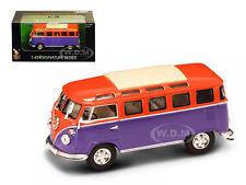 1962 VOLKSWAGEN MICROBUS VAN BUS ORANGE 1/43 MODEL BY ROAD SIGNATURE 43209