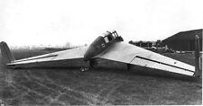 General Aircraft GAL.56 Tailless Glider Aircraft Mahogany Wood Model Replica BIG