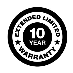 10 Year Extended Limited Warranty, Air-Cooled - Years 6 through 10 From Activati