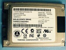 "Lenovo PN:45N7990  Toshiba 1.8"" 256GB MicroSATA SATA III  SSD THNSFC256GAMJ"