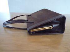 Vintage Handbag - A Jones & Sons - Brown Suede and Snakeskin Leather