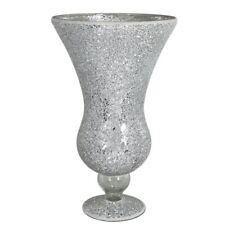 Mosaïque Sparkle cannelée Vase-Argent