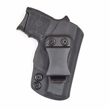 Badger State Holsters-Smith and Wesson Bodyguard IWB Black Custom Kydex Holster