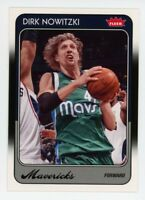 2008-09 Fleer Retro DIRK NOWITZKI BASE BASKETBALL CARD #21 1988 Dallas Mavericks