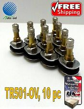 Tire Valve Stems Truck TR501 OV/ TR-501 Oval Grommet 10 qty.