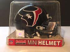 HOUSTON TEXANS RIDDELL NFL FOOTBALL MINI HELMET