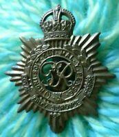 Royal Army Service Corps Cap Badge RASC KC GVI 1936-52 Era BRASS ANTIQUE Org