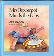 ALF PROYSEN ~ MRS PEPPERPOT MINDS THE BABY HC 1987 Shrinking Old Lady