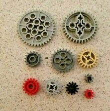 Lego Technic Gears with Tooth for gearbox or other mechanisms - new parts