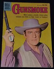 FEBRUARY / MARCH, 1960 - GUNSMOKE - No.19 - DELL COMIC - ORIGINAL - vg-cond