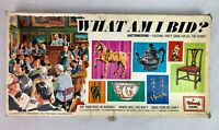Vintage What Am I Bid? - Auction Board Game - Triang 1968 Retro complete