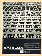 PUBLICITE ADVERTISING 124  1961  VARILUX    verres de lunettes pour presbytes
