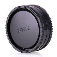Camera Body + Rear Lens Cap for Sony E-Mount NEX-7 NEX5N NEX-6 A6000 A7 A7R A7II
